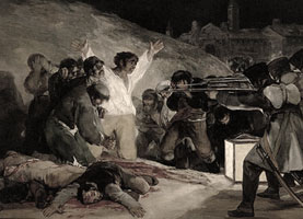 Detail from Third Of May 1808 by Francisco Goya